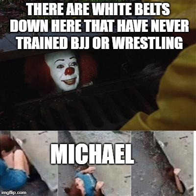 White Belt BJJ Houston